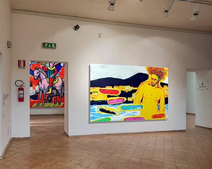 Inaugurata la mostra dell'artista corallino Arturo Pagano | ErreEmmeNews